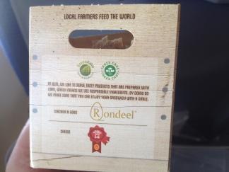 Así se sirven los sandwiches en KLM (4 ingredientes = 4 certificaciones)