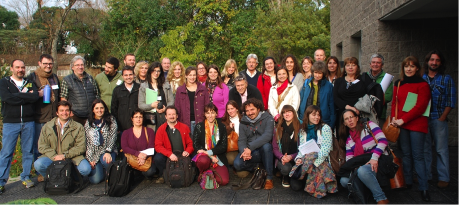 Reunión plenaria en Castelar - Agosto 2015